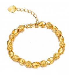 Rachelle & Co 24K Gold Plated Ladies Bracelet [Free Box]