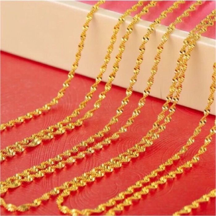 Emas Korea 24k Gold Plated Necklace