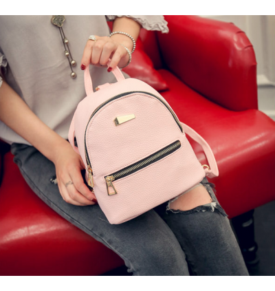 Mini Korean Fashion Casual Ladies Backpack