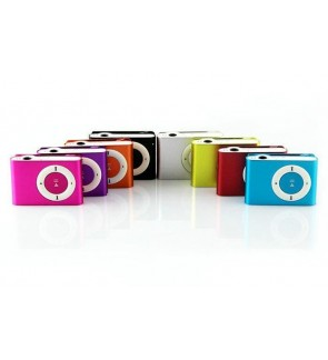 Mini Clip MP3 Player Free Earphone