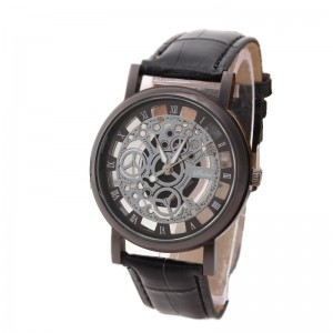 Fashion Business Watches With Leather Strap