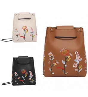 Ladies small Embroidery Sling Bag
