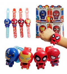 Kids Cartoon Easy Expandable Dual Design Watch