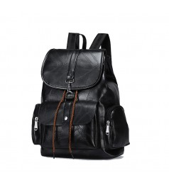 Tonya Ladies Leather Japanese Design Backpack