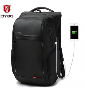 "DTBG 15.6"" and 17"" Anti Theft Laptop Backpack with USB Charging Port"