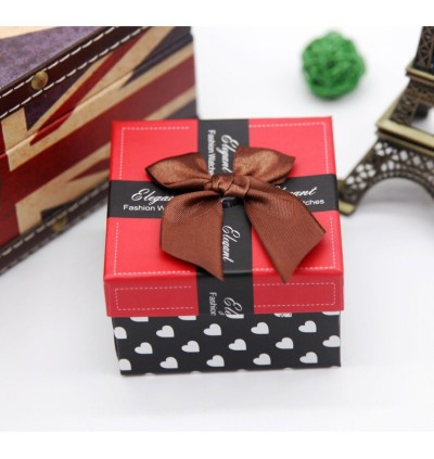Ribbon Watch Box with Cushion