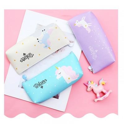 TonyaMall Unicorn Soft Pencil Case