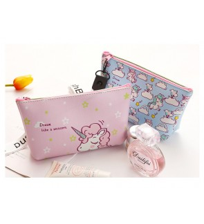 TonyaMall Unicorn Large Makeup Pouch