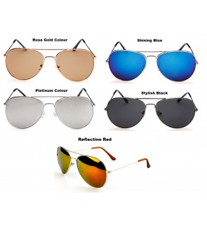 Korean Fashion Pilot Sunglasses for Adults [Free Pouch]