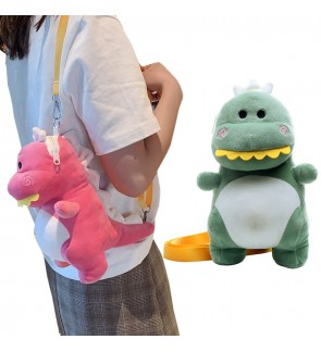 Cute Dinosour Sling Bag / Shoulder Bag