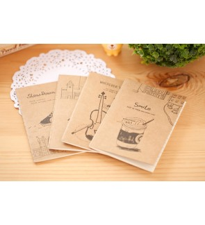 Korean Vintage Small Booklet / Memo book /Notebook
