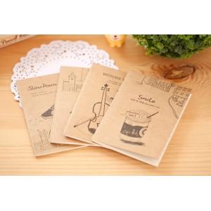 Korean Vintage Small Booklet / Memo book /Notebook