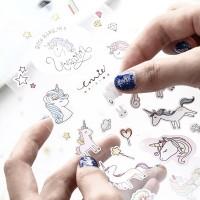 [MalaysiaReadyStock] Korean Design Unicorn Sticker for kids