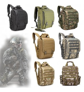 "High Grade Army Tactical 14"" Laptop Backpack / Sling Bag"