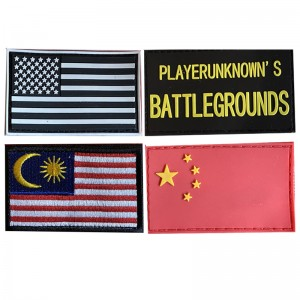 Velcro Patch for Army Bag / Backpack (Malaysian  Flag/ US Flag, etc)