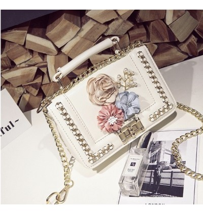 TonyaMall Hana Flower and Pearl Small Sling Bag / HandBag