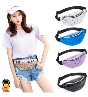 TonyaMall Shining Crystal Chest Bag / Waist Pouch