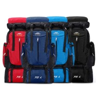 TonyaMall 75L Water Resistance Hiking/ Camping Large Backpack