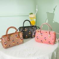 TonyaMall Mickey Barrel Bag
