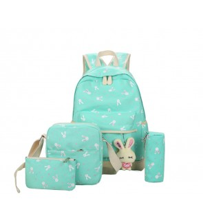 TonyaMall Ms Bunny 4 in 1 Backpack Set