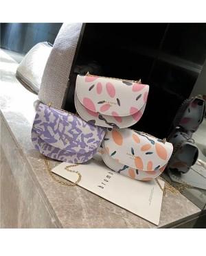 TonyaMall Sakura and Lavender Ladies Sling Bag