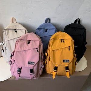 TonyaMall Korean Ulzzang Style College School Backpack Bag