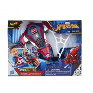 Hasbro Spider-Man Web Shots Spiderbolt NERF Powered Blaster Toy