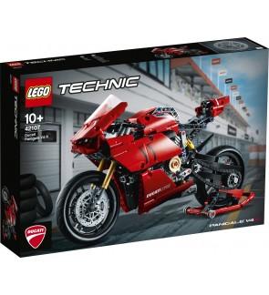 LEGO Technic Ducati Panigale V4 R Motorcycle - Model 42107