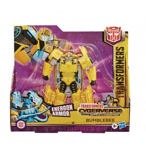 Hasbro Transformers Bumble Bee Hot Rod Clobber Ultra Class Cyberverse Figure Toys