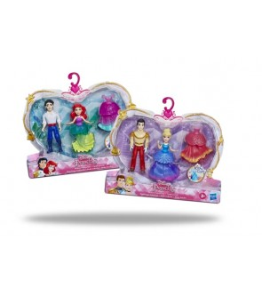 Hasbro Disney Princess and Prince Disney Set Ariel and Eric Cinderella and Prince Charming