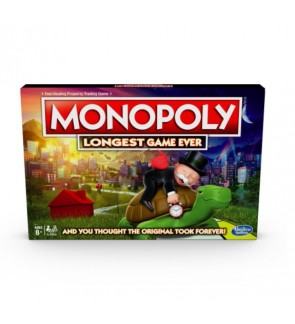 HASBRO Monopoly Longest Game Ever
