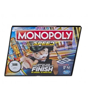 Hasbro Monopoly Speed Board Game For Family Fun Activities