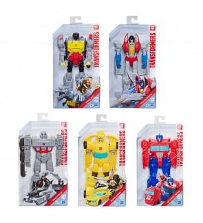 Hasbro Transformers 11-inch Action Figure Authentic Titan Changers Optimus Prime/Bumbleee/Grimlock/M