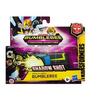Hasbro Transformers Cyberverse BumbleBee Wheeljack Bludgeon Repugnus Adventures Action Attackers 1-step