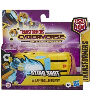 Hasbro Transformers Cyberverse Adventures Action Attackers 1-step BumbleBee Wheeljack Bludgeon Whirl