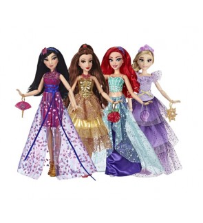 Hasbro Disney Princess Style Series Fashion Doll Rapunzel Mulan Belle Ariel