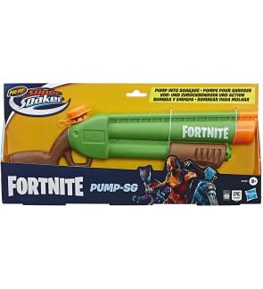 Hasbro Nerf Super Soaker Fortnite Pump-SG Water Blaster Fun Activities