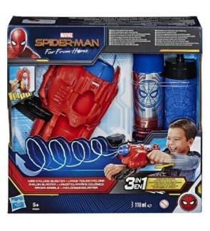 Hasbro Spiderman Web Cyclone Blaster With Real Web Cyclone Blast Included
