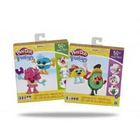 Hasbro Play-Doh Treatsies Perfect Pairing Sweet Characters-Bundle of 2 Packs (Taco & Avocado / Cupcake & Macaroons)