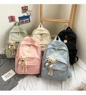TonyaMall Korean Trending Bear Backpack