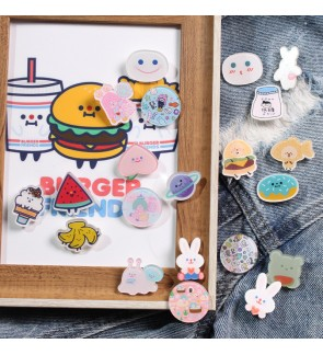 Korean Style Accessories Keychains,Badges and Pin for Bags