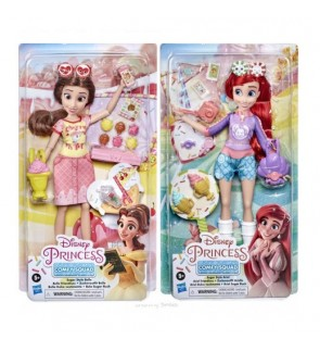 Disney Princess Comfy Squad Sugar Style Ariel and Belle by Hasbro