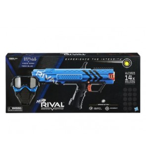 HASBRO Nerf Rival Apollo XV-700 and Face Mask blue