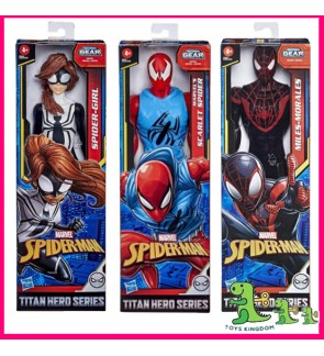 Hasbro Spider-Man Figurine Team Titan Web Warriors Spider-Girl Scarlet Spider and Friends