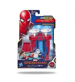 Hasbro Spider-Man Web Shots Twist Strike Blaster Toy