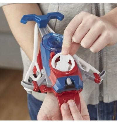 Hasbro Spider-Man Web Shots Disc Slinger Blaster Toy