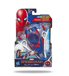 Hasbro Spider-Man Web Shots Disc Slinger Blaster Toy