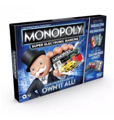 Hasbro Monopoly Super Electronic Banking Family Fun Game