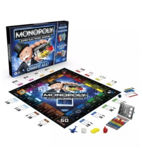 Hasbro Monopoly Super Electronic Banking Family Fun Game