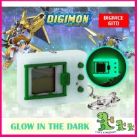 Ready Stock Bandai Digimon Glow in the Dark Digivice Vpet Virtual Pet Monster 20th Anniversary English Version